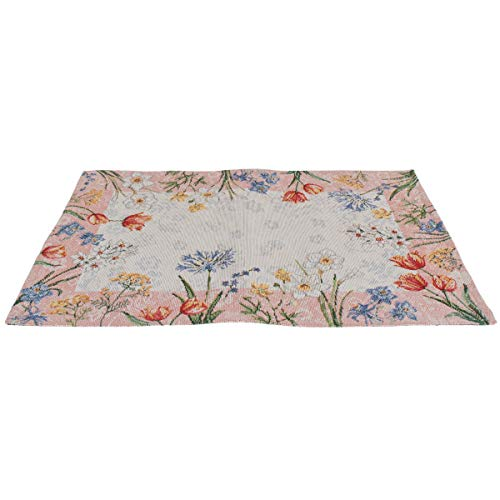 Sander Gobelin Platzset Tischset Motiv Spring Flowers 32 x 48 cm floral -