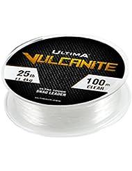 Ultima Vulcanita Ultra rígida de pesca de carpa Snag Leader, Unisex, Vulcanite, transparente, 0.50 mm - 25 lb
