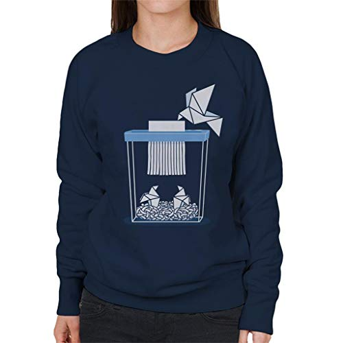 Cloud City 7 Paper Mom Origami Women's Sweatshirt