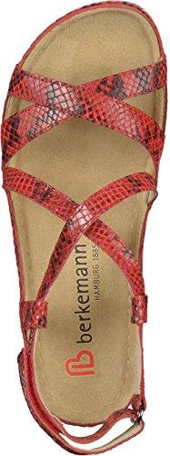 Sandálias 01751 Vermelhas Coletta Mulheres Das Berkemann rYHxqr