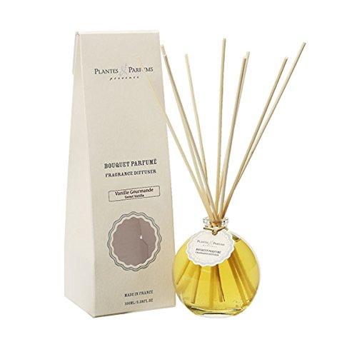 Plantes ET PARFUMS Provence - 80414 - Bouquet BRINS PARFUMES 100 ML Vanille GOURMANDE