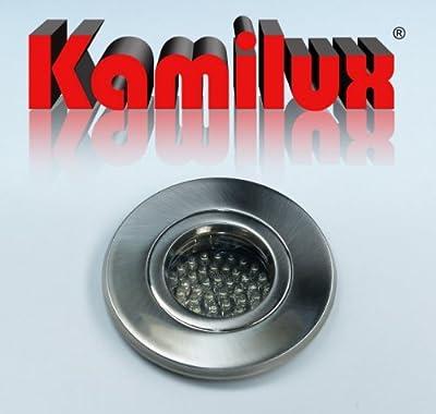 3 X 60er Led Feuchtraum Einbauleuchte Aqua Ip65 12v Warmweiss Led-trafo von Kamilux GmbH