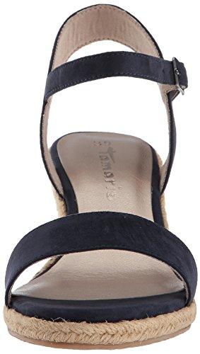 Tamaris 28300, Sandales Bride Cheville Femme Bleu (Navy)