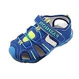 cinnamou Unisex-Kinder Atmungsaktiv Sport Sandalen Sneaker Klettverschluss Sommer Schuhe Outdoor Sport Sandalen Jungen Trekking Wandern Strandsandalen