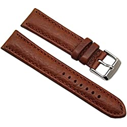 myledershop without movement Watch Display and Leather Strap 4288
