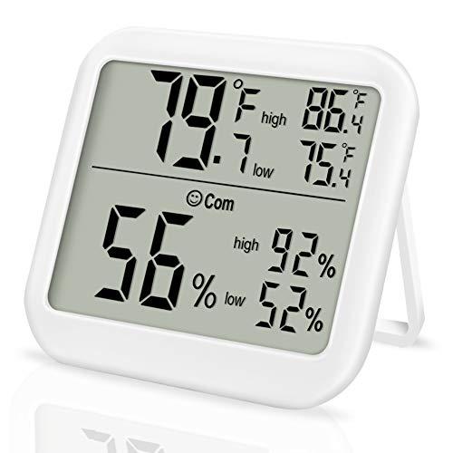 Enterin Innen-Thermometer LCD Digital Hygrometer Raum-Feuchtigkeitsmesser...