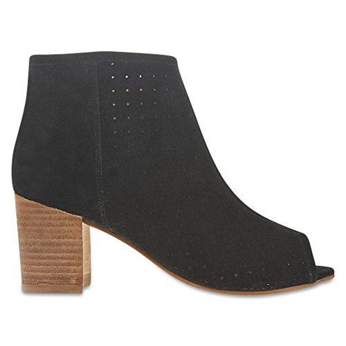 Marks & Spencer M&S Collection T027238A Suede Block Heel Peep Toe Ankle...
