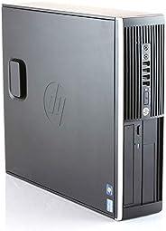 HP Elite 8300 -PC Ordenador de sobremesa (Intel Core i5-3470, 8GB de RAM, Disco SSD de 480GB, Lector DVD, Wind