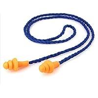 HANBIN fábrica de aprendizaje de natación con cuerda Tapones para los oídos de silicona antirruido con aislamiento acústico 5pc