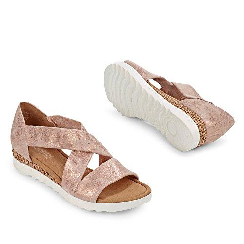 Gabor Shoes 62.711, Sandali Donna rame (Grata/weiss)