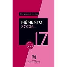 MEMENTO SOCIAL ETUDIANT 2017