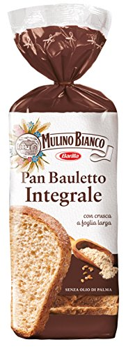 3x Barilla Mulino bianco Pan Bauletto integrale vollkorn Toastbrot Weiß Brot 400g