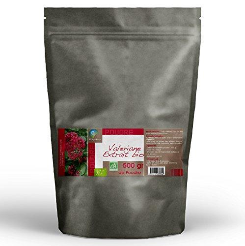 Valériane Bio (extrait) - 500 gr de poudre