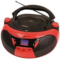 RADIO CD MP3 NEVIR NVR475U ROJO