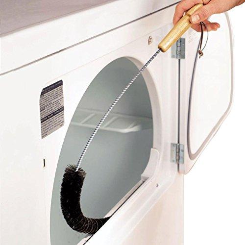 Xshuai Étendoir à linge peluches Piège à vent en nylon Brosse à gaz Feu électrique réfrigérateur pour joint d'étanchéité, sèche-linge, aération 73 cm, noir, Size: 73cm