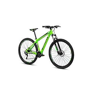 """41 BmlRWNYL. SS300 Moma Bikes Peak, Bicicletta Mountain Bike 29"""", Alluminio, Altus 27v, Freni a Disco Idraulici, Forcella Shimano con…"""