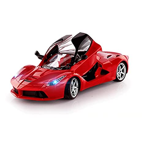 1:18 Scale.Butterfly Doors Steering Wheel Gravity Sensing Pedal Remote Controlled Model Sports Car