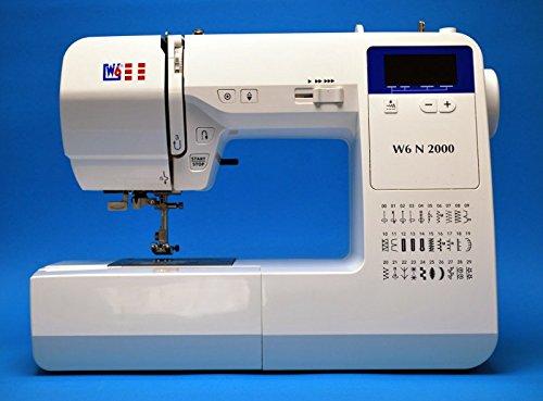 W6 Nähmaschine N 2000 Computergesteuerte Nähmaschine mit 30 Programmen - 2