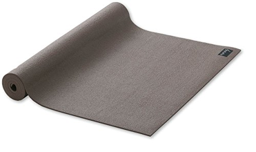 Yogamatte Studio standard Gymnastikmatte Pilates Matte braun 60cmX183cmX4,5mm