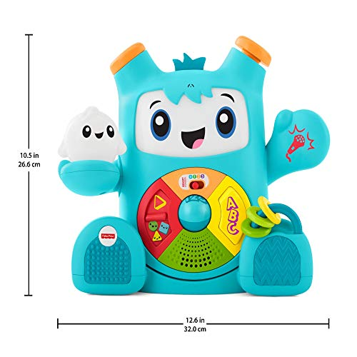 Ongebruikt Fisher-Price CGV43 Dance and Move Beatbo, Baby Robot Learning Toy KP-17