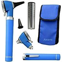 Lápiz compacto con luz led, azul. Awans