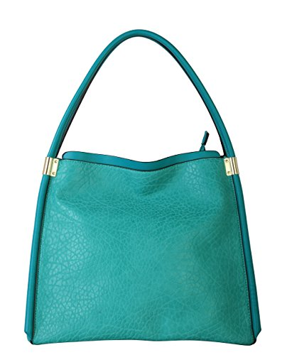 diophy-os-2986-womens-faux-leather-shoulder-handbag-green