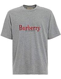 c66e50156219 BURBERRY Homme 8007829 Gris Coton T-Shirt