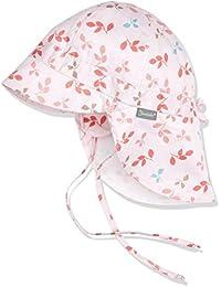 Sterntaler Baby - Mädchen Mütze Schirmmütze M. Nackenschutz
