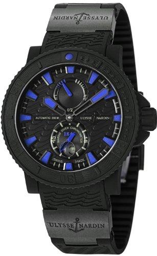 Ulysse Nardin Maxi Marino Diver Mar Negro Reloj Automático para hombres–263–92–3C/923