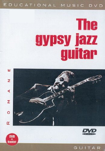 Romane The Gypsy Jazz Guitar Gtr Dvd