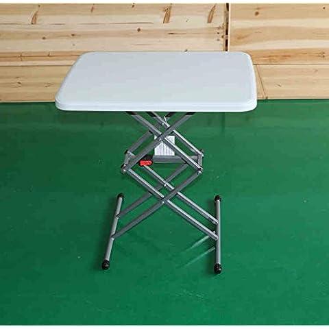 Simple y fácil Mesa plegable Mesa de comedor Mesa de comedor silla de escritorio portátiles ordenador de mesa ajustable pequeña mesa