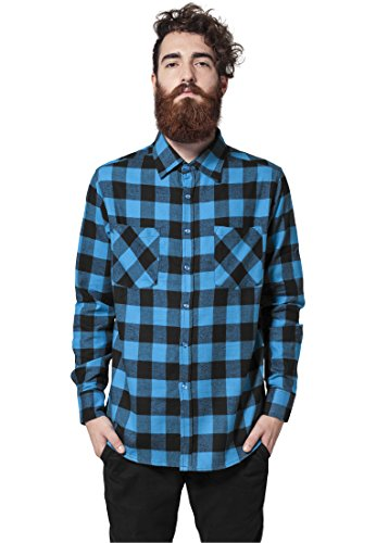 Checked Flanell Shirt blk/tur S