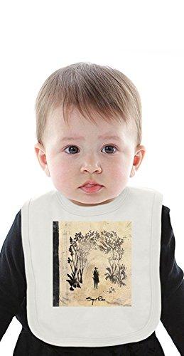 Sigur Ros Takk Album Cover Organic Baby Bib With Ties Medium -