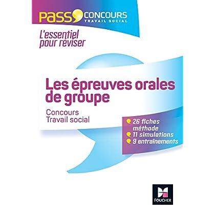 Pass'Concours - Les épreuves orales de groupe en travail social - Nº66