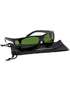 Gafas protección IPL Rainbow/La gafas para Luz Pulsada Intensa/190-1800nm OD4+/IPL4-R