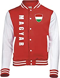 Ungarn College Jacke -Trikot Look - 6