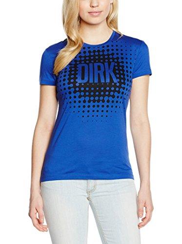 DW7020520311 Bikkembergs T-Shirt Damen Baumwolle Blau Blau