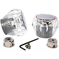 Plumb-Pak Tête de robinet Acrylique Lot de 2 (Import Grande Bretagne)