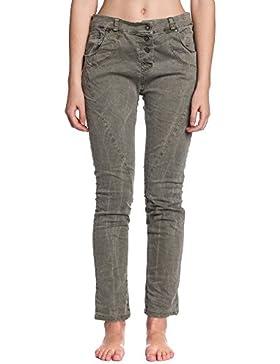 [Patrocinado]Abbino 60115 Pantalones para Mujeres - Hecho en ITALIA - 3 Colores - Entretiempo Primavera Verano Otoño Fashion...