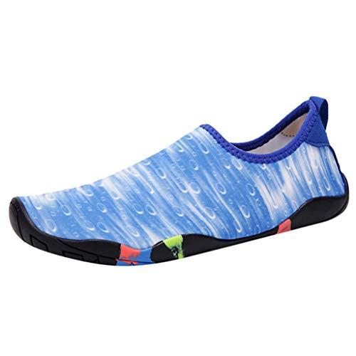 xmansky Herren Damen Laufschuhe Sneaker Straßenlaufschuhe Sportschuhe Turnschuhe Outdoor Leichtgewichts,Paar Strandschuhe Badeschuhe Wasserschuhe Barfuß Quick Dry Aqua Schuhe