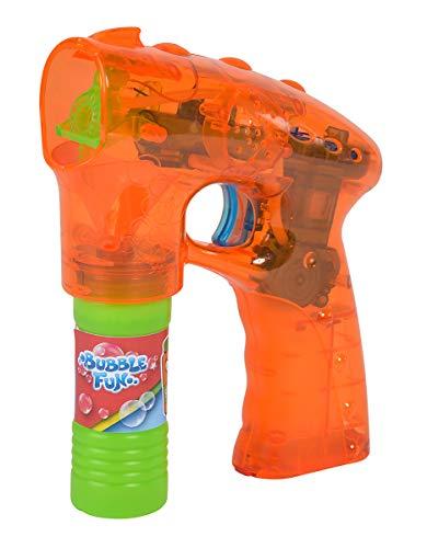 Simba 107282330 Bubble Fun Seifenblasen Pistole, Mehrfarbig