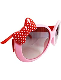 MagiDeal Kids Girls Fashionable Beach Clothing Accessory Cute Comfortable Wear Bowknot Decoration Fun Sunglasses...