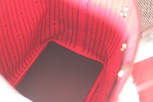 Shapeyourbag, Borsetta da polso donna Rosso rosso Nero (nero)