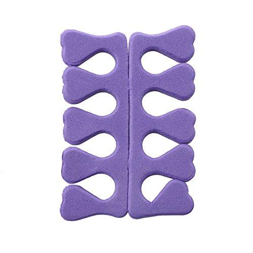 TOOGOO(R) Separateur d'orteil en Mousse EVA Souple Entretoise d'orteils pour Manucure Pedicure