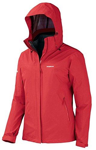 Trangoworld Damen SUBER COMPLET Jacke, Rot-7d1-Rojo Fuego, M