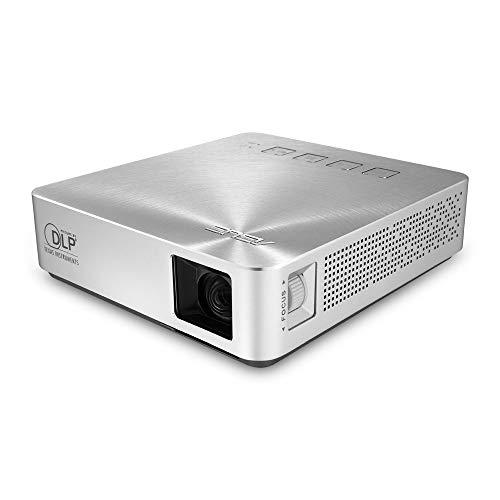 Asus S1 LED-Beamer (WXGA, Kontrast 1000:1, 854 x 480 Pixel, 200 ANSI Lumen, HDMI/MHL)