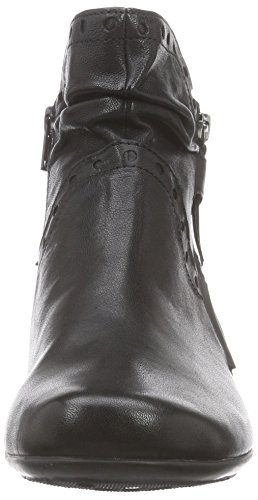 Gabor Comfort Basic, Stivali classici imbottiti a gamba corta donna Negro (micro 27)