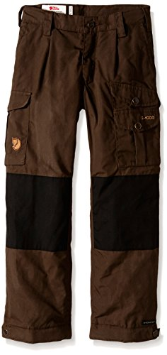 Fjällräven Kinder Kids Vidda Padded Trousers Outdoor Hose, Dark Olive, 152