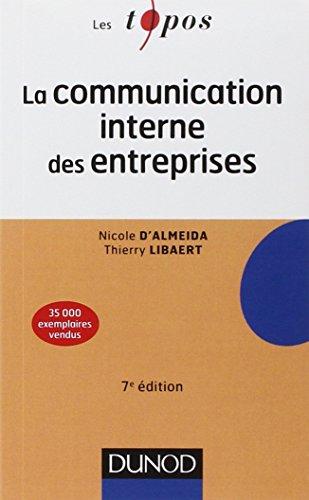 La communication interne des entreprises - 7e édition