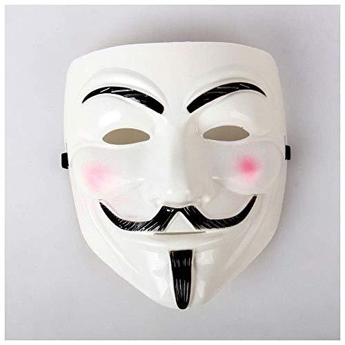 e Thema Maske Street Dance Requisiten V-Vendetta Dance Party Maske Verdickt Handgemalte Maske ()